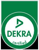 Dekra Siegel: DIN ISO 9001:2008